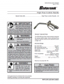 Icon of SB 3087 Control Handle Hi-Flow Non-Metered-RETIRED